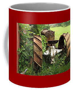 Rusty Tractor 1  Coffee Mug