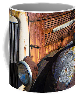 Rusty Truck Detail Coffee Mug