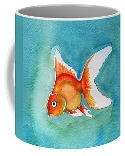 Coffee Mug featuring the painting Ryukin Goldfish by Katherine Miller