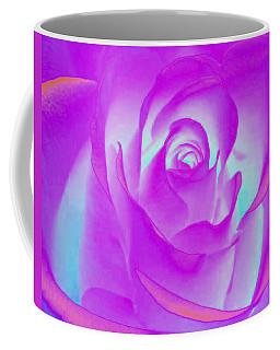 Sabattier Rose Coffee Mug