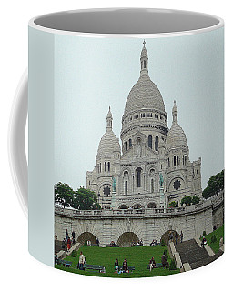 Sacre Coeur Basilica Coffee Mug by Kay Gilley