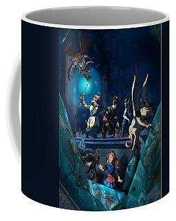 Sacred Burial Chamber Coffee Mug