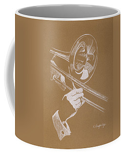Art Trombone Coffee Mugs