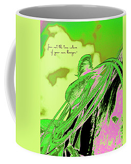 Saddle Electric Pink Coffee Mug