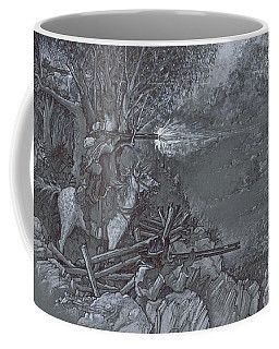 Saddle Sniper Coffee Mug by Scott and Dixie Wiley