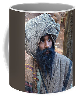 Sadhu At Amarkantak India Coffee Mug
