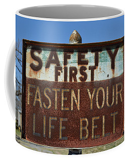 Safety First Coffee Mug