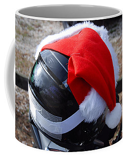 Safety First Santa Coffee Mug