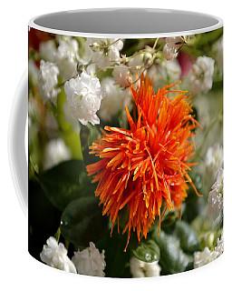 Safflower Amongst The Gypsophilia Coffee Mug