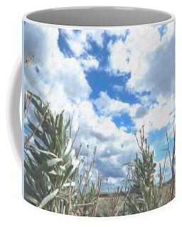 Coffee Mug featuring the digital art Sagebrush Sky by Aliceann Carlton