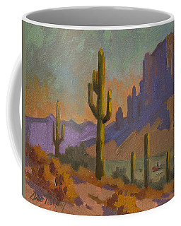 Saguaro Cactus And Apache Junction Coffee Mug