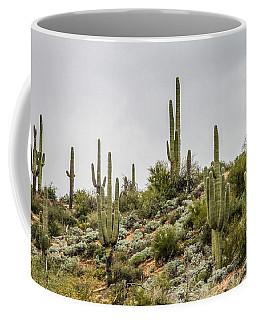 Saguaro Cactus  Coffee Mug by Bill Gallagher