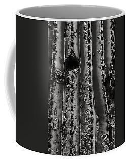 Saguaro Cactus Black And White 1 Coffee Mug