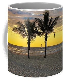 Sail Away At Dawn Coffee Mug
