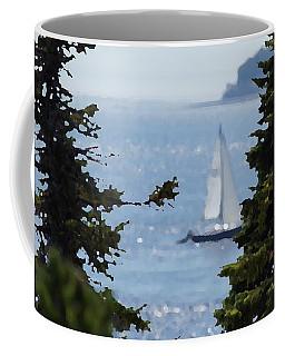 Sail On Coffee Mug by David and Lynn Keller