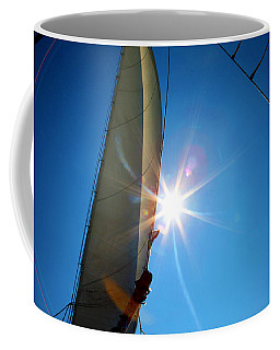 Sail Shine By Jan Marvin Studios Coffee Mug