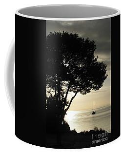 Sailboat At Dawn Coffee Mug