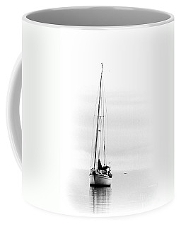 Sailboat Bw Too Coffee Mug