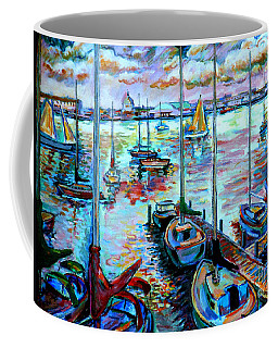 Sailboat Harbor Coffee Mug