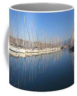 Sailboat Reflections Coffee Mug