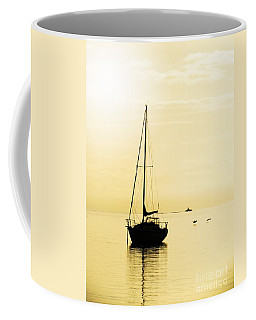 Sailboat With Sunglow Coffee Mug