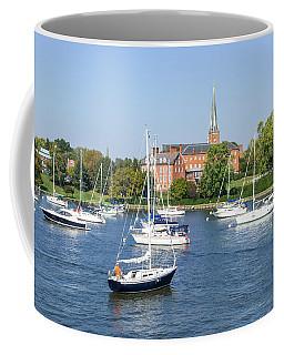 Sailboats By Charles Carroll House Coffee Mug