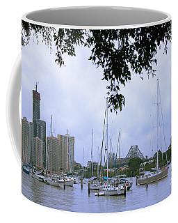 Sailboats In Brisbane Australia Coffee Mug