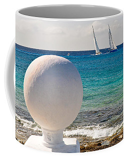 Sailboats Racing In Cozumel Coffee Mug