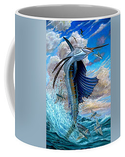 Sailfish And Flying Fish Coffee Mug