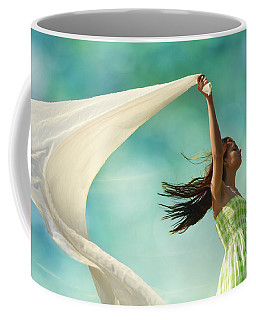 Sailing A Favorable Wind Coffee Mug
