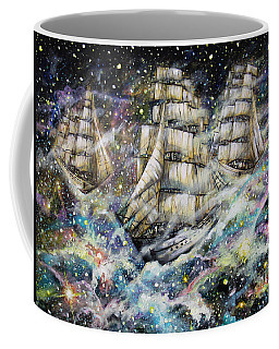 Sailing Among The Stars Coffee Mug