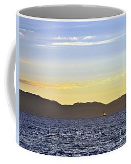Sailing At Sunset - Lake Tahoe Coffee Mug