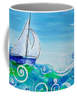 Sailing By Jan Marvin Coffee Mug