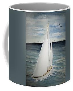 Sailing Coffee Mug by Elvira Ingram