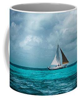 Sailing In Blue Belize Coffee Mug
