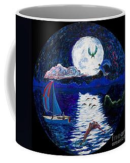 Sailing In The Moonlight Coffee Mug