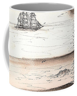 Sailing Into The Past Coffee Mug