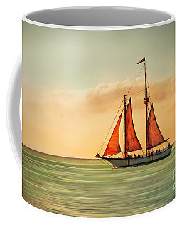 Sailing Into The Sun Coffee Mug