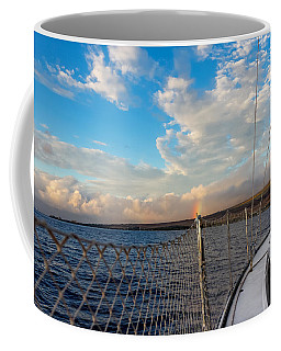 Sailing Lahaina Bay Coffee Mug