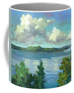 Sailing On Puget Sound Coffee Mug