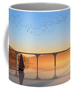 Sailing Out To Sea... Coffee Mug