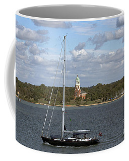 Sailing Past Netley Coffee Mug