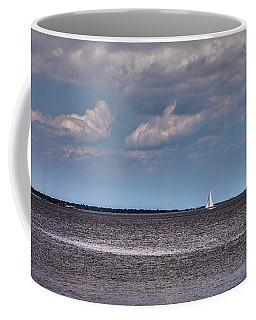 Coffee Mug featuring the photograph Sailing by Sennie Pierson
