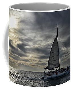 Sailing The Caribbean Coffee Mug