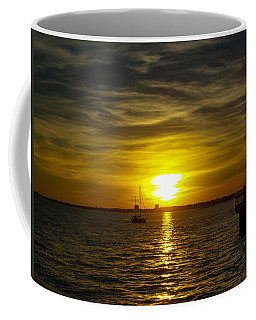 Sailing The Sunset Coffee Mug