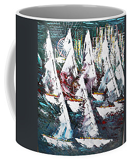Sailing With Friends - Sold Coffee Mug