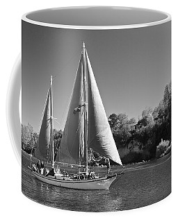 The Fearless On Lake Taupo Coffee Mug by Venetia Featherstone-Witty