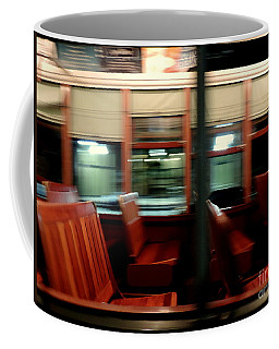 New Orleans Saint Charles Avenue Street Car In New Orleans Louisiana #6 Coffee Mug by Michael Hoard