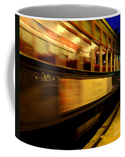 Coffee Mug featuring the photograph New Orleans Saint Charles Avenue Street Car In  Louisiana #7 by Michael Hoard