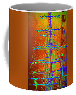 Coffee Mug featuring the photograph New Orleans Saint Elmo Fire by Michael Hoard